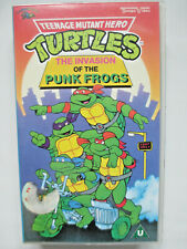 TEENAGE MUTANT HERO TURTLES - THE INVASION OF THE PUNK FROGS ORIGINAL VHS VIDEO