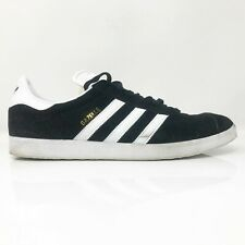 Adidas Mens Originals Gazelle BB5476 Black White Running Shoes Lace Up Size 12.5