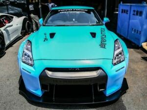 Nissan GTR hood vent trims (may be universal to all cars) frp