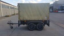 2-Achsen Anhänger Tandem mit Auflaufbremse Nutzlast 1200kg pro Achse VB