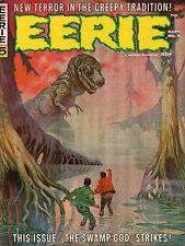 Eerie #5 - Frazetta Dinosaur Cover - 1966 (Grade 7.0)
