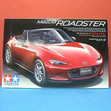 Tamiya 1/24 Mazda MX-5 Roadster 4th Generation [ND](with driver) model kit 24342