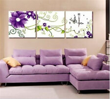 "NEW Cross Stitch Kits""purple flower"" 11CT:105CM*34CM"