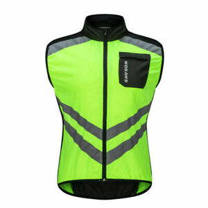 Reflective Mesh Safety Vest with Pockets High Visibility Cycling Motorcycle Work