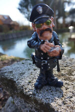 01412001 FIGURINE METIER CARICATURE POLICIER  COLLECTION LES  ALPES AMENDE PV