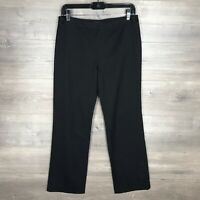 Brooks Brothers 346 Women's Size 6 Lucia Dress Pants Trousers Black 100% Wool