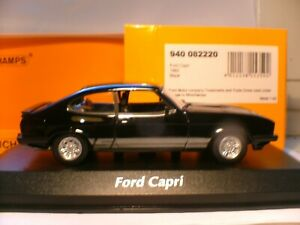 WOW SUPERB NEW MAXICHAMPS//// MINICHAMPS 1/43 1982 FORD CAPRI 3.0S STUNNING NLA