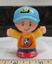 Fisher Price Little People Boy Man Jack Soccer Coach Player Hat New Style Part