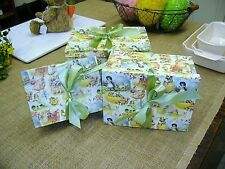 Bethany Lowe Vintage Style Easter Postcard Boxes-Spring -Set of 3-Retired