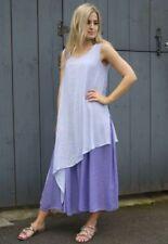 Summer/Beach Round Neck Textured Dresses for Women