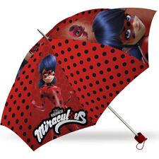 NEU Miraculous Ladybug Regenschirm Schirm Knirps Taschenschirm Kinder Umbrella