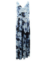 SL Fashions Women's Embellished Printed Gown