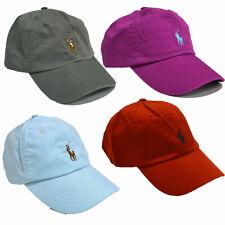 Polo Ralph Lauren Baseball Hat Pony Logo One Size Adjustable Strapback Nwt New