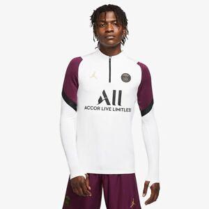 Mens Nike Jordan X Paris Saint Germain PSG 20/21 Dry Strike Drill Top Size Small