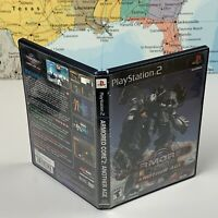SHIPS SAME DAY *Case Only Armored Core 2 Another Age Playstation 2 PS2 Case Only