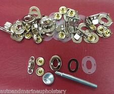 10 Common Sense Turn Button Twist Lock Fasteners Sail Cover Dodger 60 pk & tool