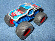 "2006 Mga Marvel Spider-Man Blue & Red 1:64 Diecast 3 1/2"" Monster Truck - Nice"