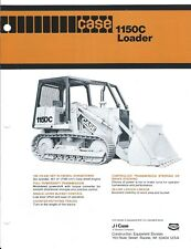 Equipment Brochure - Case 1150C Crawler Loader - Hyster W5A Winch c1978 (E3855)