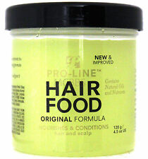PRO-LINE HAIR FOOD ORIGINAL FORMULA NOURISHES CONDITIONS HAIR SCALP 4.5 OZ.
