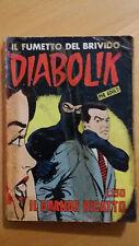 DIABOLIK prima serie n. 22 Il grande ricatto 1964 Sodip  ORIGINALE