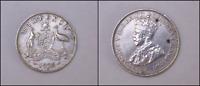 1925 Australian Sixpence - 8 Pearls EF+ Condition, Nice Coin, CV$200+(HJ219)