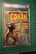 CONAN THE BARBARIAN #31 CGC GRADED AT 9.6 OCT 1973 OFF-WHITE TO WHITE PAGES