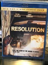 Resolution (Blu-Ray / DVD Combo Pack) Peter Cilella, Vinny Curran, BRAND NEW!