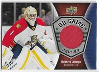 2016-17 UPPER DECK ROBERTO LUONGO UD GAME-USED JERSEY #GJ-RL FLORIDA PANTHERS