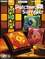 Leisure Arts 273 Patchwork Sampler Stitch and Learn Vintage 1977 Needlepoint
