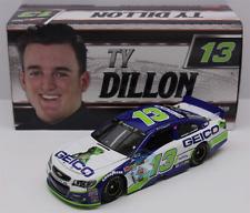 Rookie 2017 Ty Dillon #13 Geico Cartoon Gecko 1/24 Car