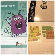 Wilson Fundations Student Level 2 - student books, magnetic board