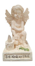 Angel Kneeling down Figurine with Solar light