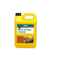 Everbuild 401 Brick And Patio Cleaner Acid Based Formula Dissolves Stains - 5L