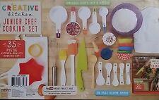 Creative Kitchen Junior Chef Real Cooking & Baking Set Kids Utensils 35 Pieces
