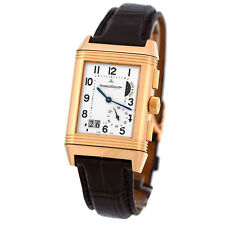 JAEGER LeCoultre 18K Rose Gold Grande Reverso GMT Dual Time Q3022420 Warranty