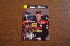 1993 Finish Line #66 Davey Allison Card
