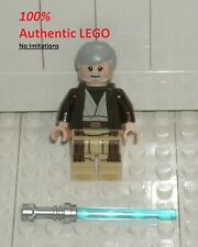 LEGO Obi-Wan Kenobi + Lightsaber NEW Authentic Star Wars 75173 Minifigure