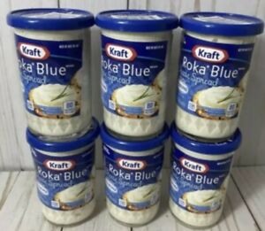 *DATED 6/30/2021 LOT OF 6- Kraft Roka Blue Cheese Spread NEW 5oz For Cheese Ball