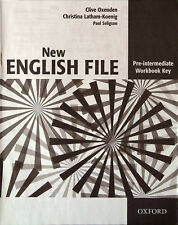 Oxford NEW ENGLISH FILE Pre-Intermediate Workbook MultiROM @NEW@ DISC ONLY!