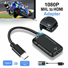 Mini USB-C Type C to HDMI  USB 3.1 TV Cable Adapter For MHL Android Phone Tablet