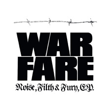 WARFARE - Noise, Filth & Fury CD EP #14 (NEW*NWOBHM CLASSIC*VENOM*SPEED METAL)
