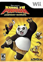 Kung Fu Panda: Legendary Warriors Nintendo Wii Kids Game U
