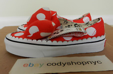 DS Vans x Disney Authentic Gore size 3.5 Minnie Bow red mens kids  VN0A38ETUJ3 0a9bb3bfe