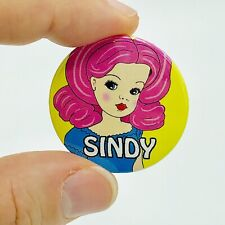 Sindy Doll 38mm Button Pin Badge