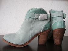 Australia Luxe botín señora botines zapatos de piel Mint cukka talla 37 nuevo