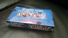 24x Honus Bonus Fantasy Baseball Factory Sealed Boxes Box MLBPA PRINTING PLATES