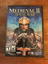 Medieval II: Total War (PC, 2006) - Complete in Box w/ Soundtrack & Crusades DVD