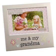 Relation Family Aluminium Silver Plated Photo Picture Frame 6x4 Gift By Juliana