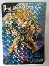 Carte Dragon Ball Z DBZ PP Card Part 27 #1221 Prisme (Version Hard) AMADA 1995