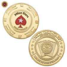 WR Poker Protector Card Guard Poker Stars Hearts Design Metal Casino Token Coin